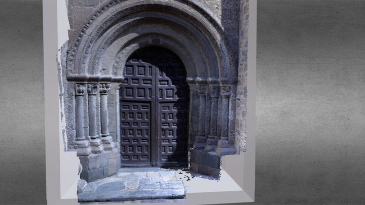Portada San Juan Bautista 3D Model