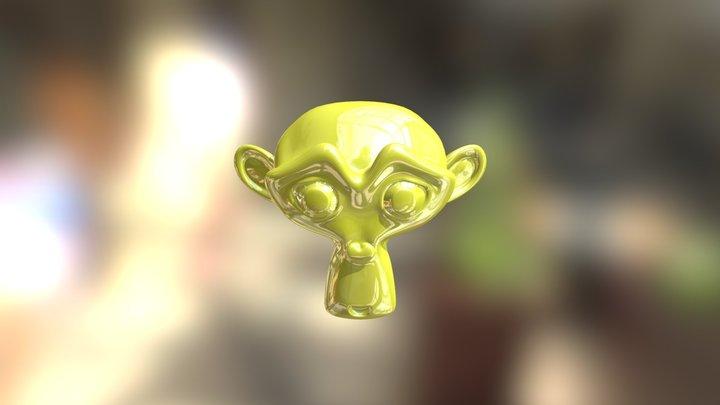 monkey_test 3D Model