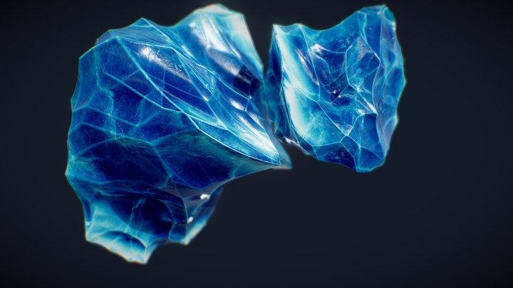 Crystal | BLUE | 3D Model