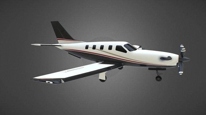 Visualisation 3D d'un Avion Daher-Socata TBM850 3D Model