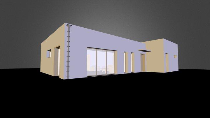 Maison Cueron - Cueron House 3D Model