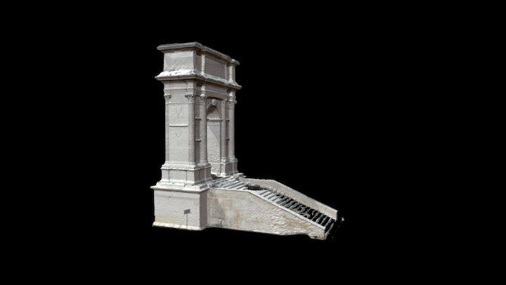 Arco di Traiano - Arch of Trajan (Ancona) 3D Model