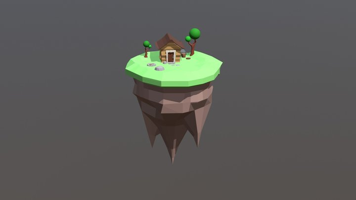 Sky_Island 3D Model