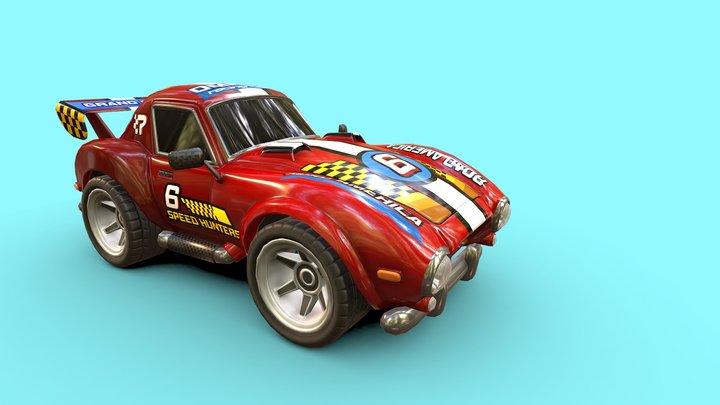 SportCar 3D Model