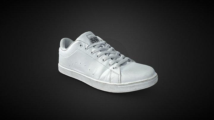 New Yorker Shoe Sneakers White 3D Scan 3D Model