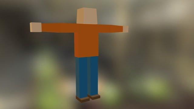 WP_Hitman_Standing 3D Model