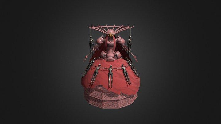 Simone (Nier Automata) 3D Model