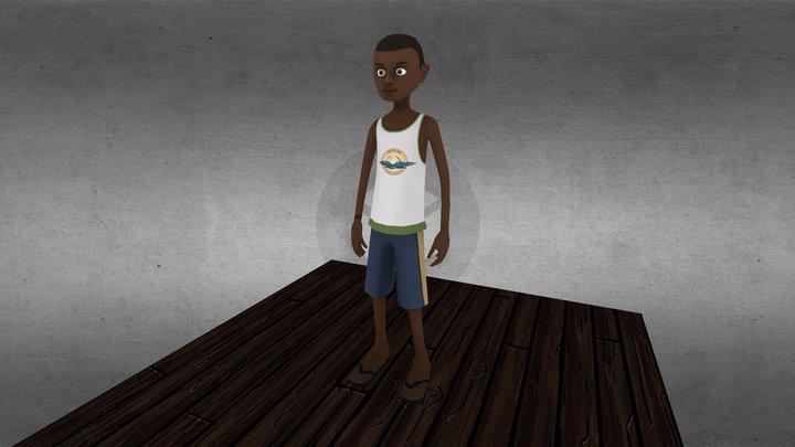 Julio Ventura 3D Model