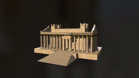 #NEWPALMYRA: Temple of Bel 3D Model