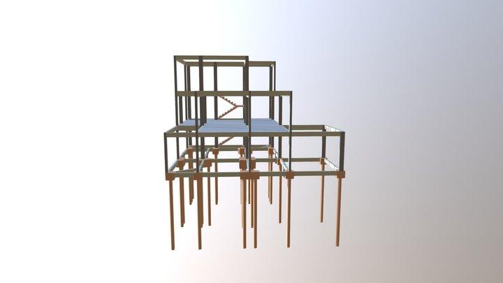 Sobrado - Chacara - Polaco 3D Model
