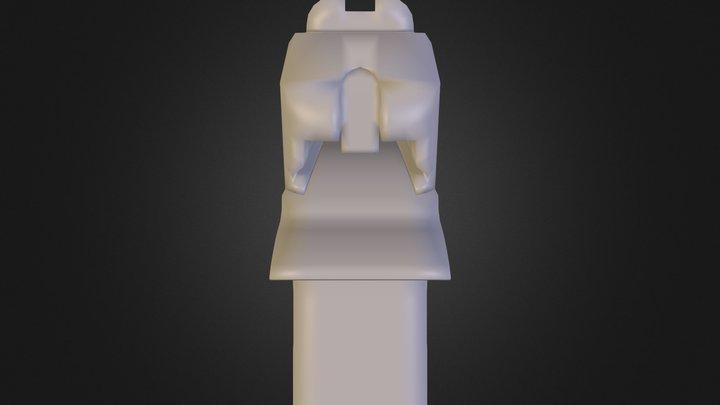 Pistol N E Lowpoly16 3D Model