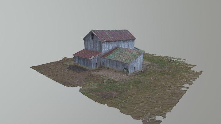 Old Barn Fairfield County, Ohio 3D Model