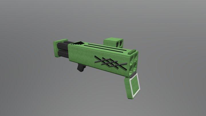 Quadra Rocket 3D Model