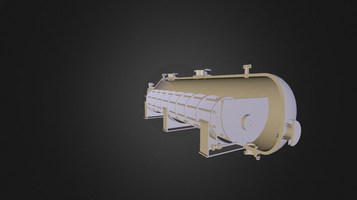 Блок 3 3D Model