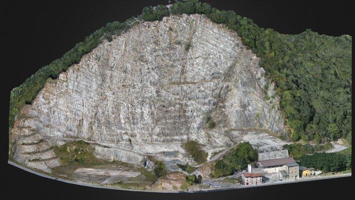 Cava di Piaggione / Quarry in Garfagnana (LU) 3D Model