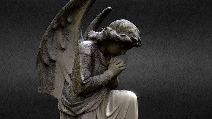 Cemetery Angel - Scottino 3D Model