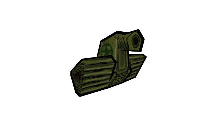 Little Tank 3D Model