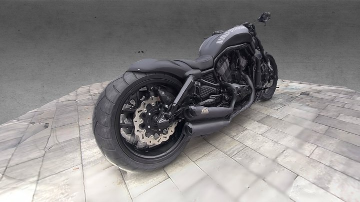 BIKE BLACK 3D Model