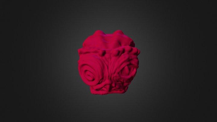 Monstruo Ojoide 3D Model