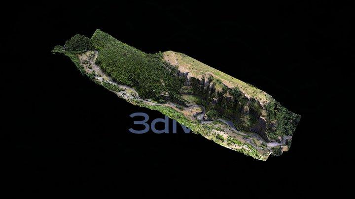 Cheddar Gorge 3D Model