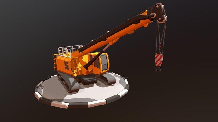Crane on tracks_DRAFT 3D Model