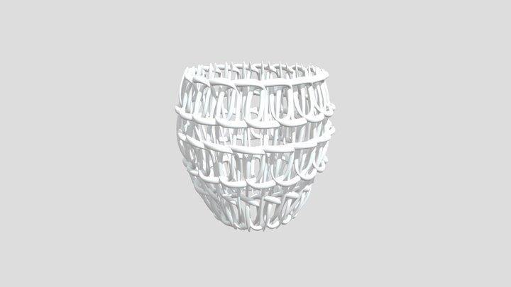 Brush Pot 3D Model