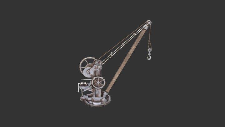 Crane of the 20th century 3D Model
