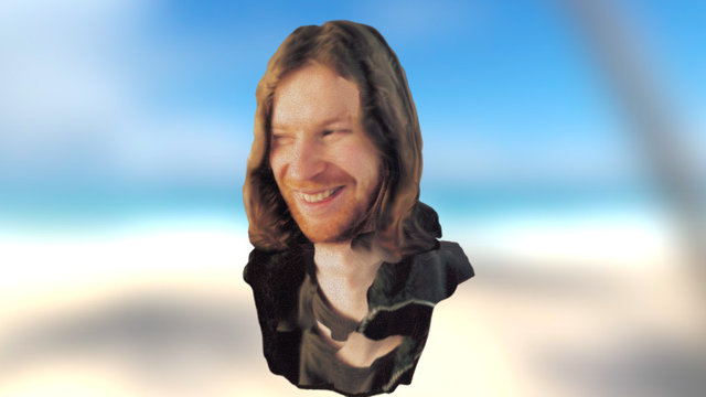 Richard David James - Aphex Twin face 3D Model