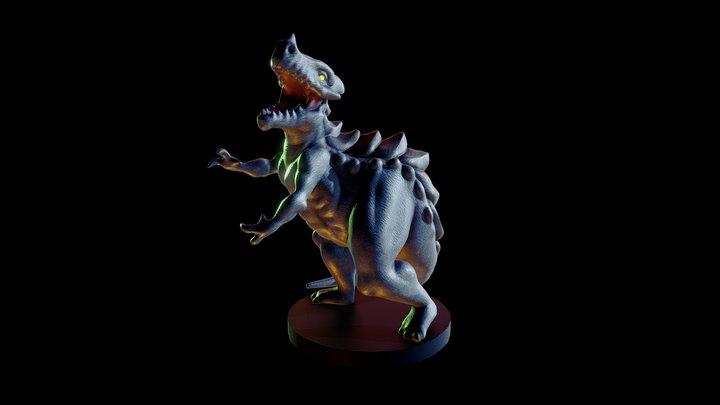 Kaiju Sculpt 3D Model