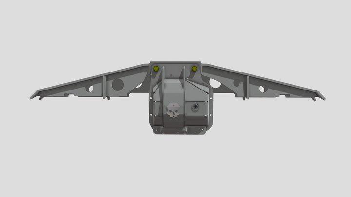 Ford Sterling 10.5 truss Mrk-1 1 3D Model