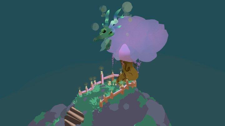 Faraway Island 3D Model