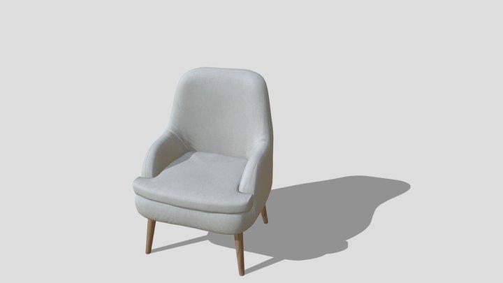 NAIVI BUTACA BEIGE 3D Model