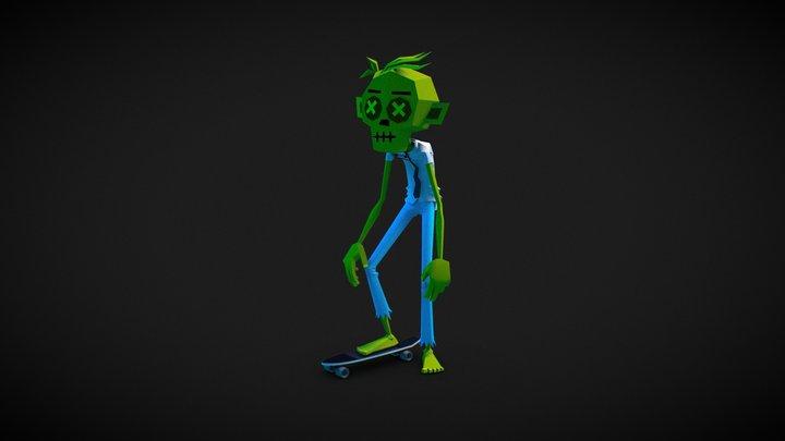 Zombie - Pocket Skate 3D Model