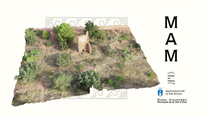 Torre de La Casota s. XII (La Vall d'Uixó) 3D Model