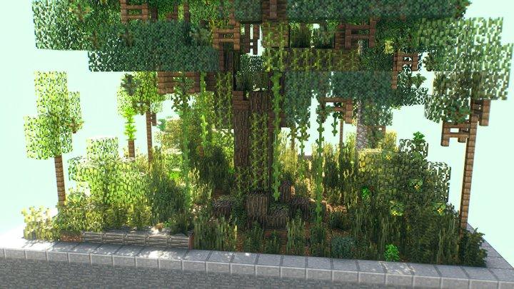 Forest Demo 3D Model