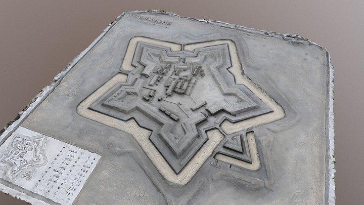 Goryoukaku 3D Model