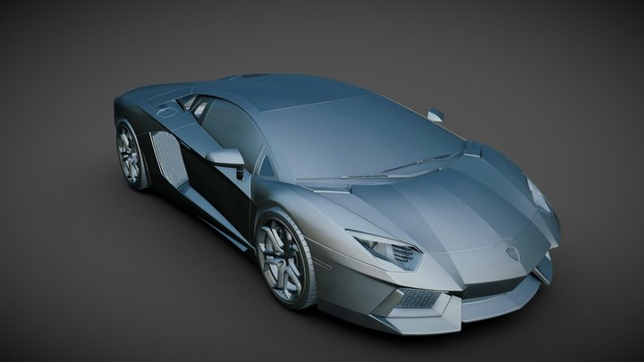 Lamborghini LP700-4 3D Model