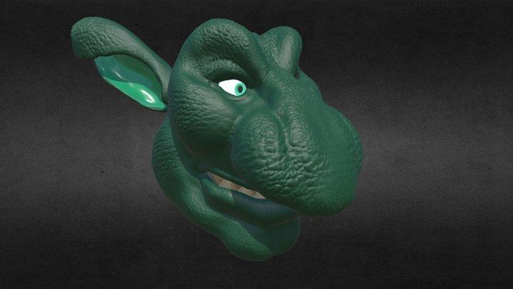 Happy Goblin 3D Model