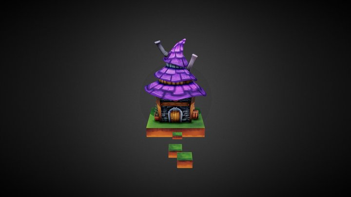 Small witch's house 3D Model