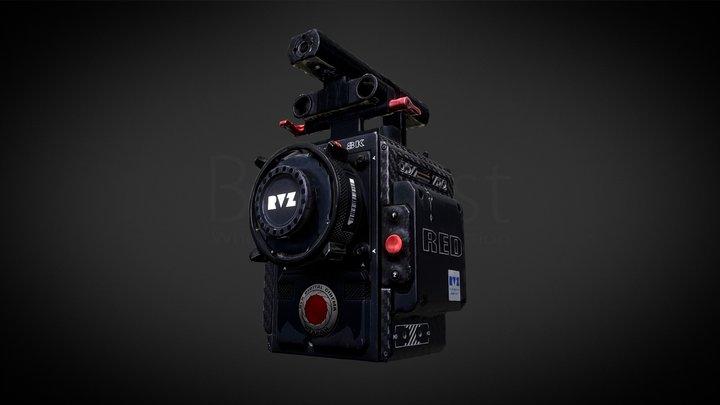 Red Monstro (RVZ) 3D Model