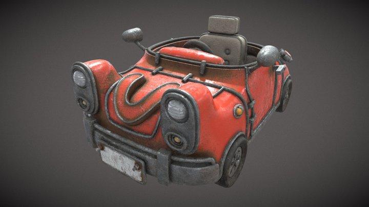 Car01 Test 3D Model