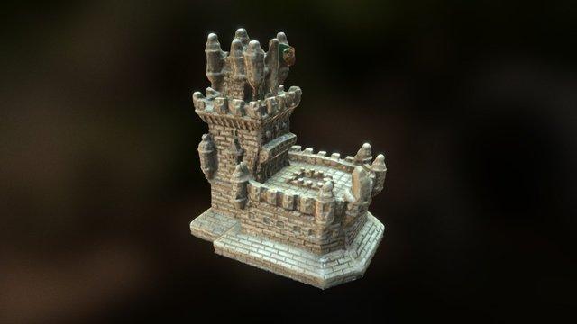 Torre Belem 3D Model