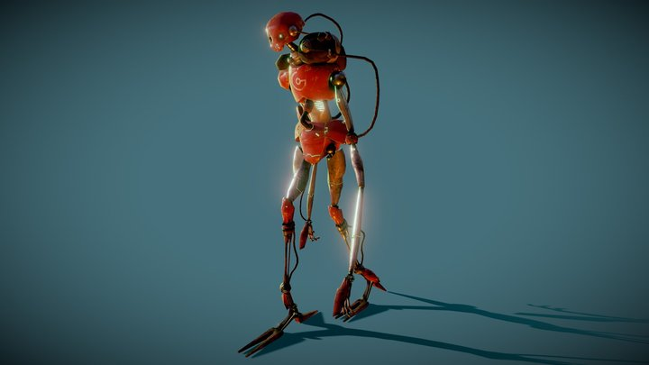 Soul Collector Robot 3D Model