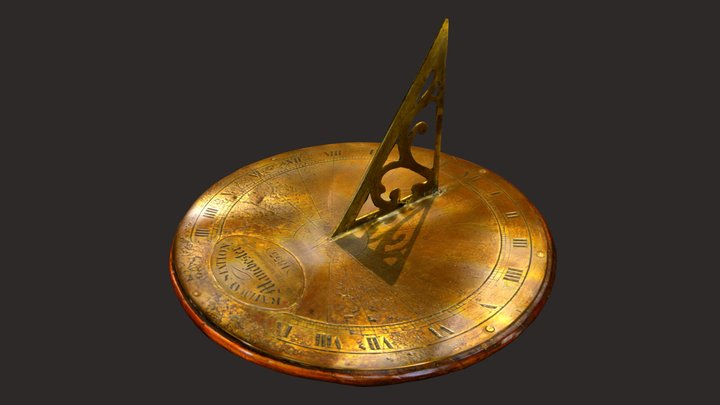 The Sundial from Liverpool Road Station 3D Model