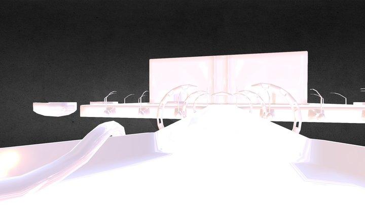 Space Trap 14 3D Model