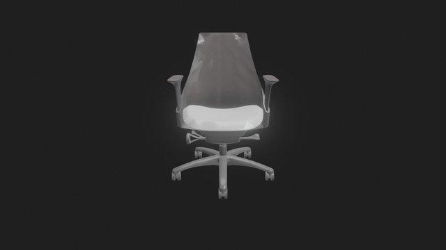 HMI SAYL Work Chair 3ds 3D 3D Model