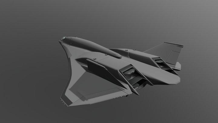 LRS - Bomber Mk I 3D Model