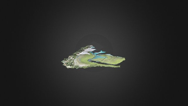 Tyrell Bay at 400ft Simplified 3d Mesh 3D Model