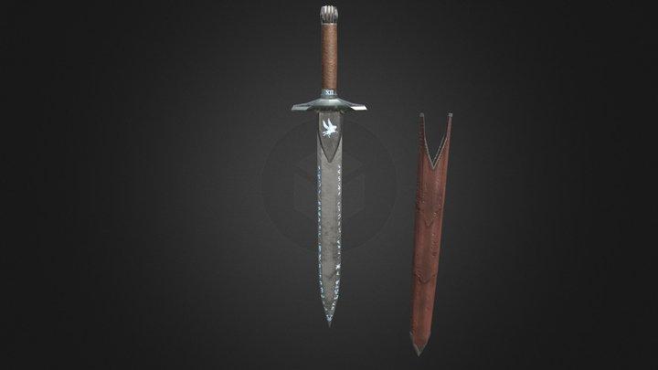 Runic sword 3D Model