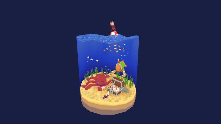 Undersea Friendos 3D Model